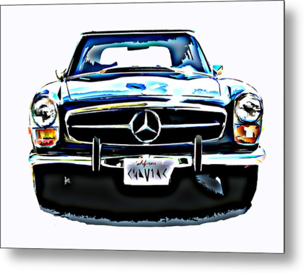 Mercedes Benz 280sl Roadster Metal Print