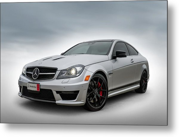 Mercedes Benz Amg C63 Edition 507 Metal Print