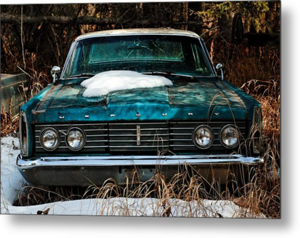 Mercury Blues Metal Print