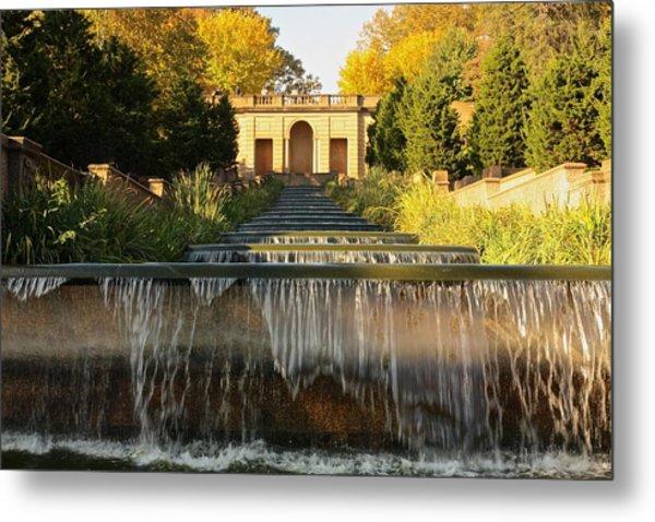 Meridian Hill Park Waterfall Metal Print