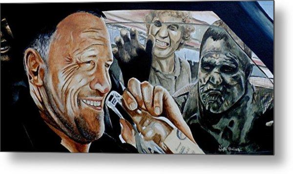Merle's Last Stand Metal Print
