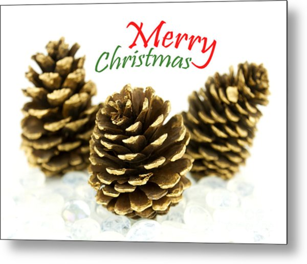 Merry Christmas Metal Print by Blink Images