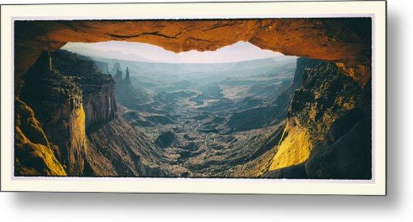 Mesa Arch Metal Print by Robert Fawcett