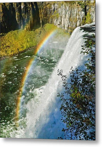 Mesa Falls Metal Print