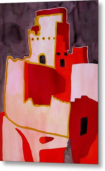 Mesa Verde Original Painting Sold Metal Print