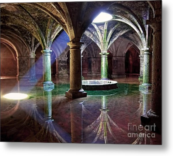 Mesmerizing Spectacle Of Light And Shadows  Metal Print