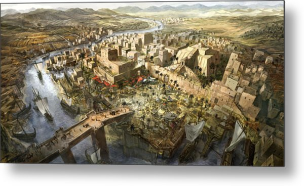 mesopotamia painting by jeff brown