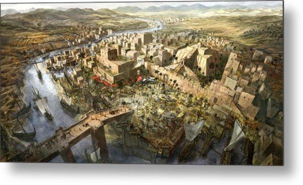 Mesopotamia Metal Print by Jeff Brown