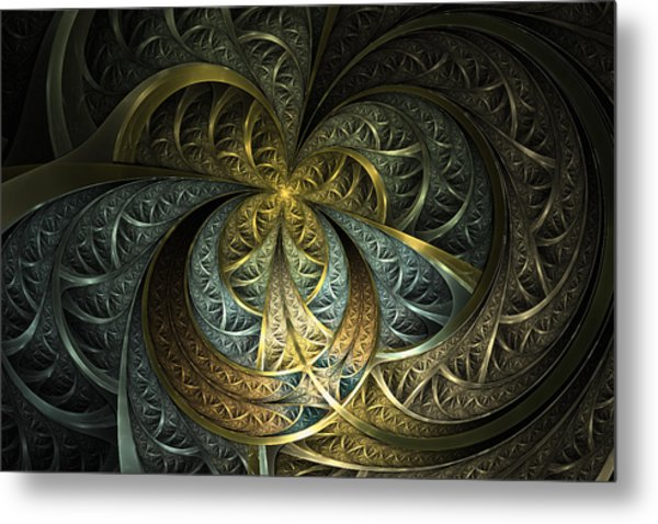 Metal Glass Metal Print