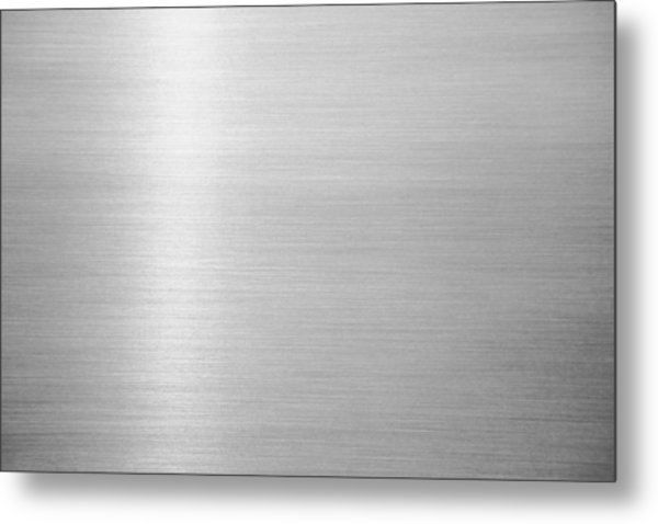 Metal Hairline Texture Background Metal Print by Katsumi Murouchi