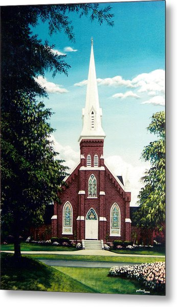 Methodist Church Metal Print