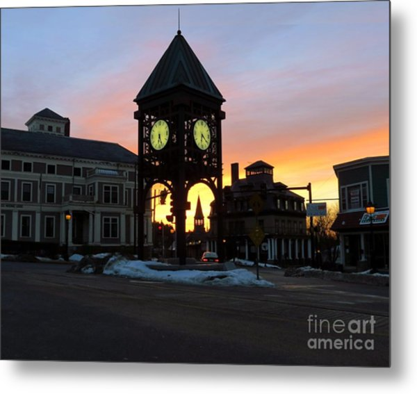 Methuen Square Metal Print