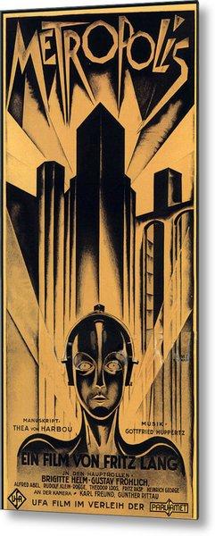 Metropolis Poster Metal Print