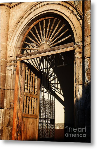 Mexican Door 27 Metal Print