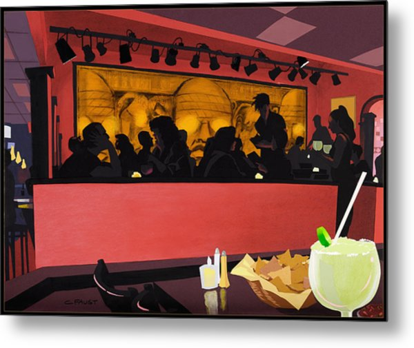 Mexican Restaurant Metal Print