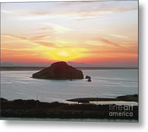 Mexican Riviera Sunset Metal Print