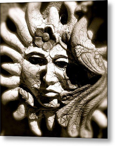 Mexican Sun Metal Print