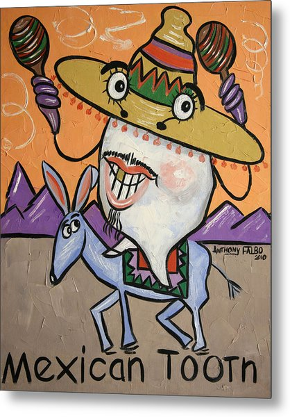 Mexican Tooth Metal Print