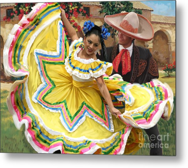 Mexicanhatdance Metal Print