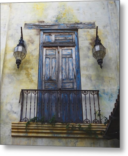 Mexico.old Town Metal Print