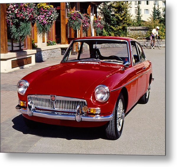 Mgb In Whistler Metal Print