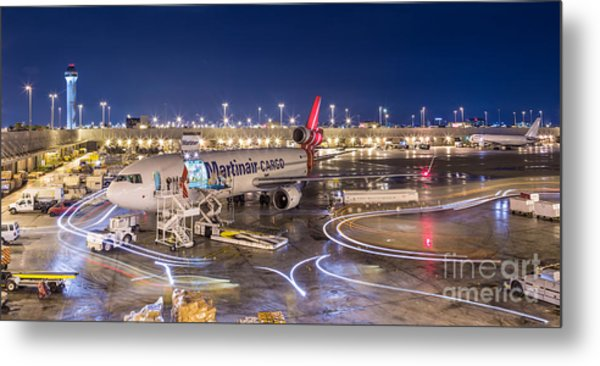 Miami Airport Metal Print