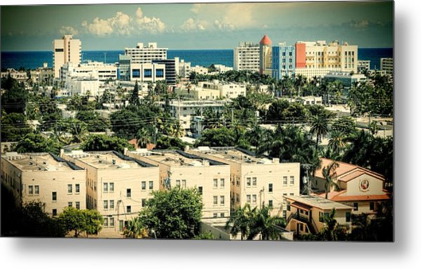 Miami Beach-0156 Metal Print