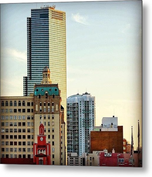 Miami Buildings ... (gesu Church - Metal Print