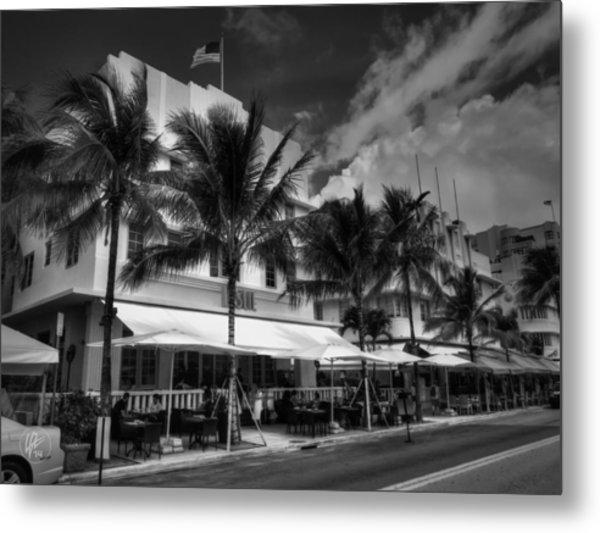 Miami - Deco District 011 Metal Print