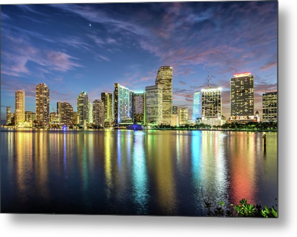Miami Florida Metal Print