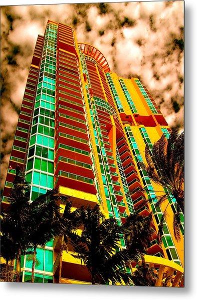 Miami South Pointe II Metal Print
