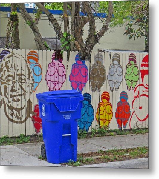Miami Street Art Metal Print