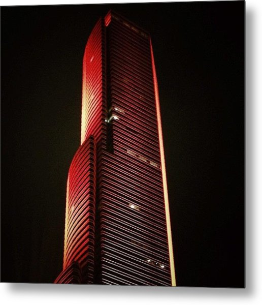 Miami Tower - Miami Metal Print