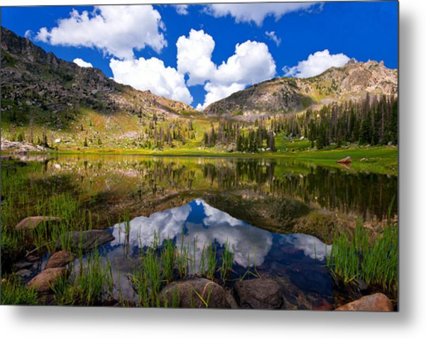 Mica Lake Metal Print
