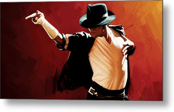 Michael Jackson Artwork 4 Metal Print
