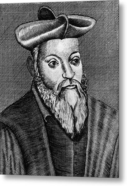 Michel Nostradamus Metal Print