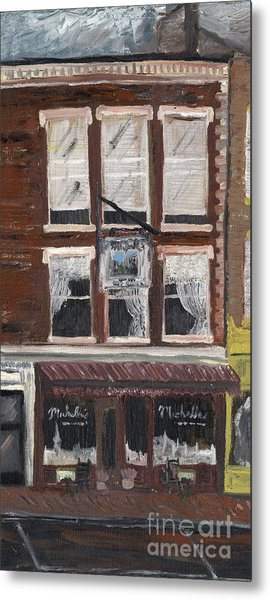Michelle's On Market Square Metal Print