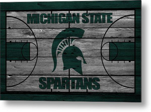 Michigan State Spartans Metal Print