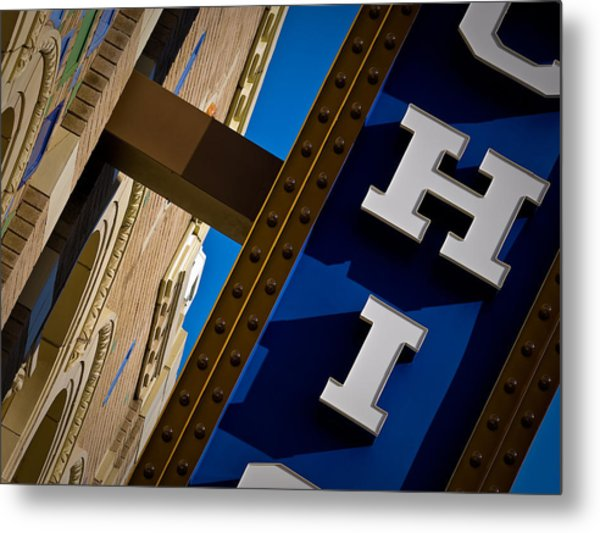 Michigan Theater Marquee Metal Print