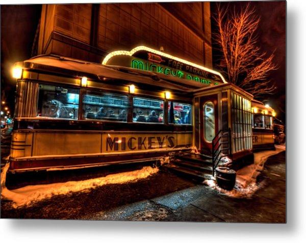 Mickey's Diner St Paul Metal Print