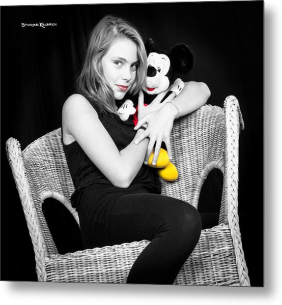 Mickey's Protection Metal Print