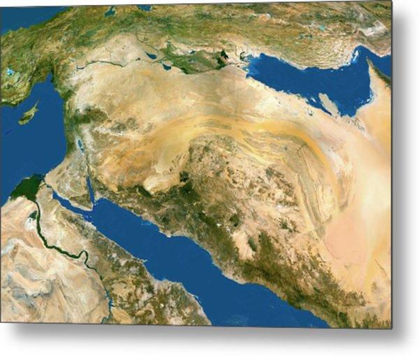 Middle East Metal Print