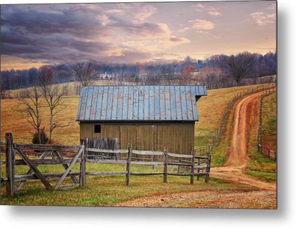 Middleburg Virginia Countryside Metal Print