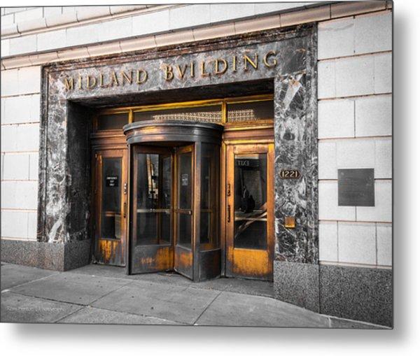 Midland Building Metal Print