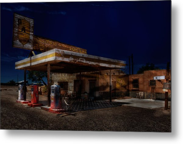 Midnight At The Oasis. Metal Print