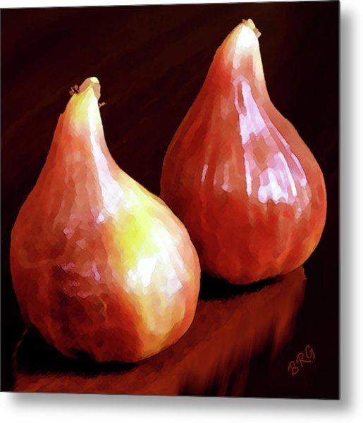 Midnight Figs Metal Print