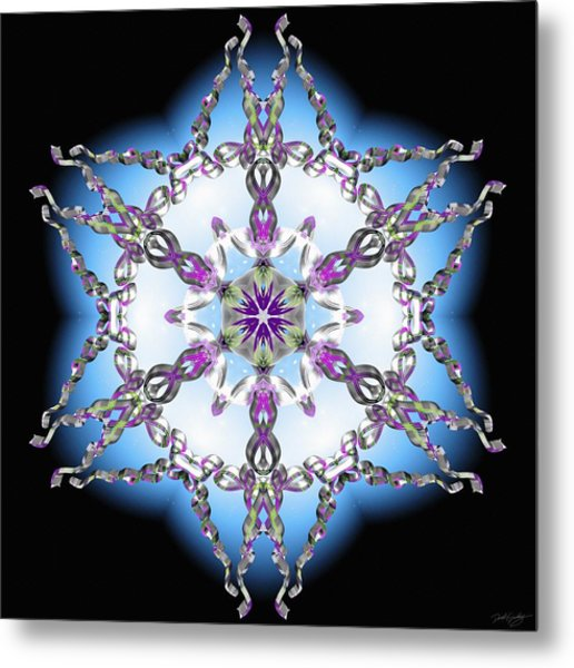 Midnight Galaxy IIi Metal Print