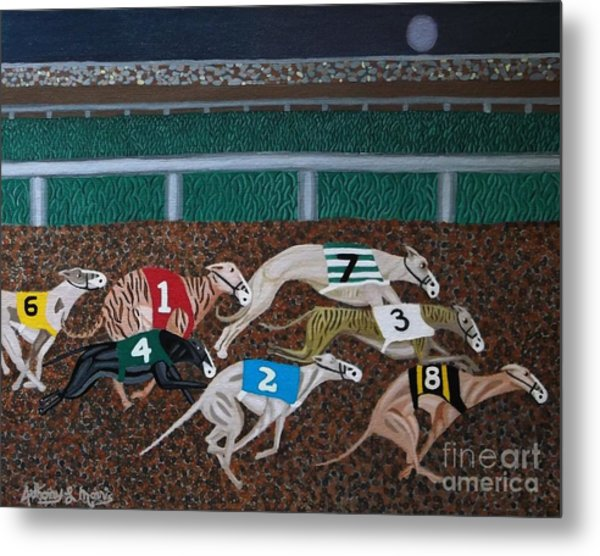 Midnight Run Metal Print by Anthony Morris