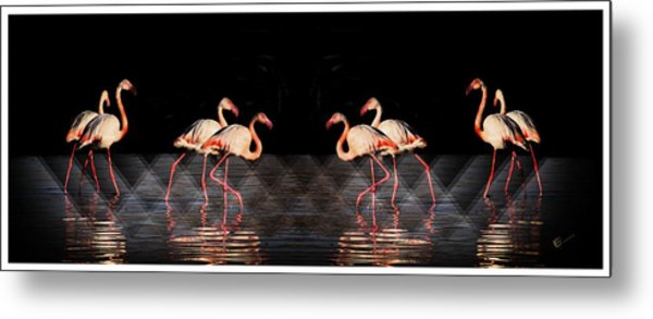 Midnight Tango Metal Print by Ernestine Manowarda
