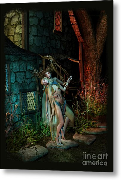 Midnight Visitor Metal Print